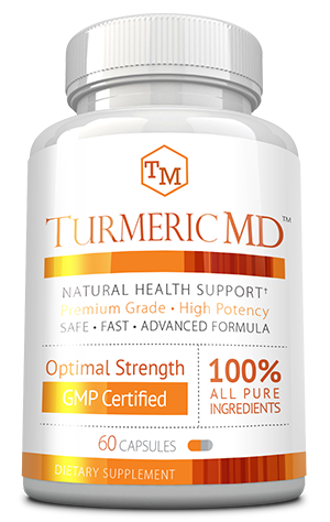 Turmeric MD ingredients bottle